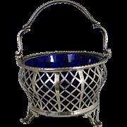 A George V. Vintage Silver Sugar Bowl, 1935