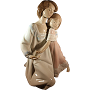 "Lladro Mother and Child figurine 1987- ""Good Night"""