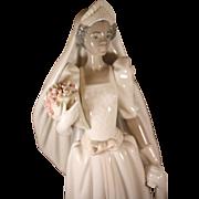 Lladro's beautiful The Black Bride 1995  #5439