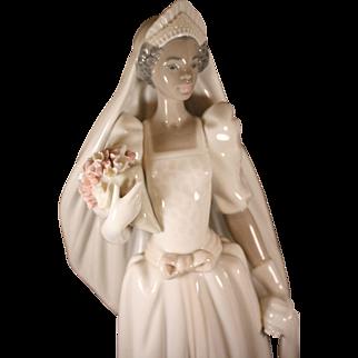 "Lladro's beautiful ""The Black Bride""-1995  #5439"