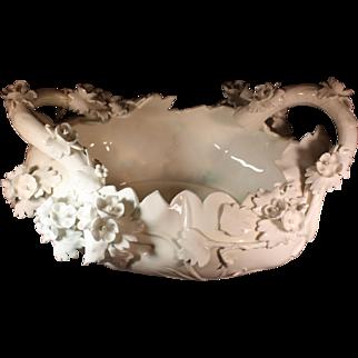 Rare Royal Crown Derby Capodimonte Centerpiece Bowl