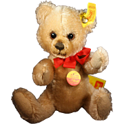 Little Steiff Bear 7 1/2 Inches Tall - With Original Tag