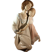 "Lladro Mother and Child figurine ""Good Night"" #5449"