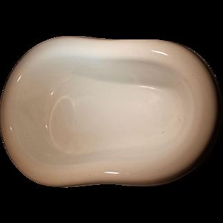 18th Century French Porcelain 19 Inch Bidet