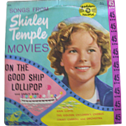 Shirley Temple 45 Record