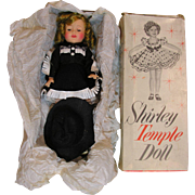 Shirley Temple Vinyl 12 inch Cow Girl Doll