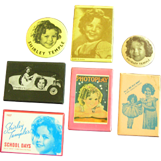 Shirley Temple Pocket Mirrors