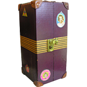 1930's Original Shirley Temple Doll Trunk