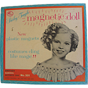 Shirley Temple 1961 Magnetic Paper Doll