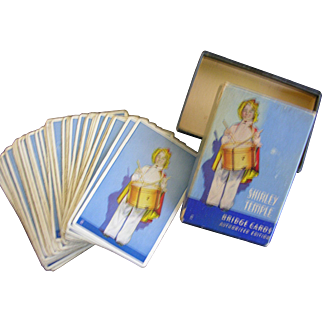 Shirley Temple Bridge Cards