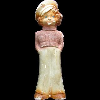 Chalk Figure Shirley Temple
