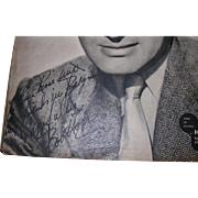 Bob Hope Signature French Cinema Magazine