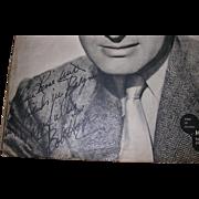Bob Hope Signature French Cinema Magazine