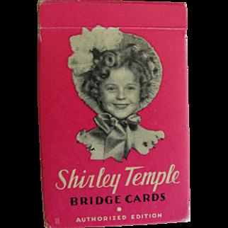 Shirley Temple Bridge Cards