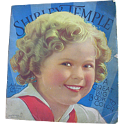 Shirley Temple A Great Big Book To Color