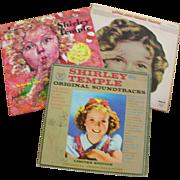 Shirley Temple Vinyl Vintage Albums