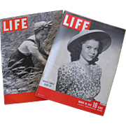Shirley Temple Life Magazines