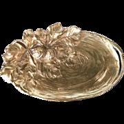 Gilt bronze vide poche by French artist Albert Marionnet (1852-1910)