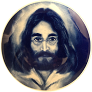 John Lennon collector plate, Made in Denmark, Limited Edition