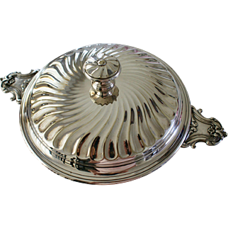 CHRISTOFLE, French Silver Plated Lidded Tureen, 1862 to 1935
