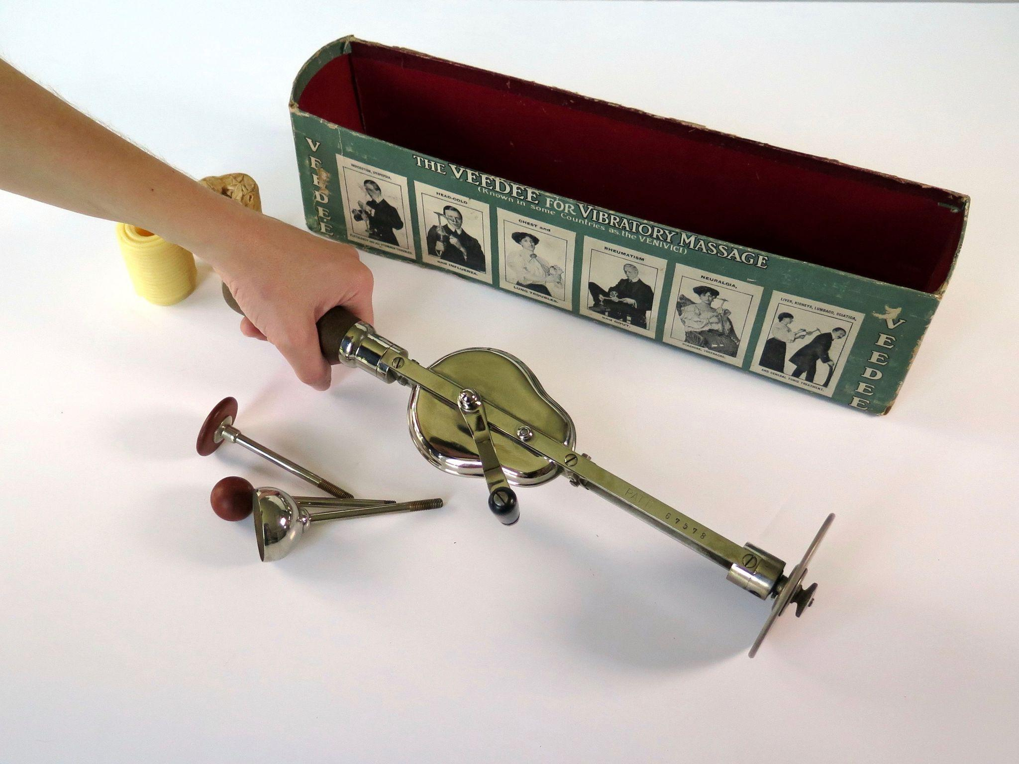 Victorian Mechanical Vibrator Quot The Venivici Quot 1900 From