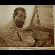 Alma Tadema, signed photogravure, 19th Century