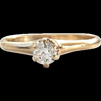 Classic Antique Engagement Ring