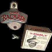 1950s Tome Bacardi Wall Mount Bottle Opener