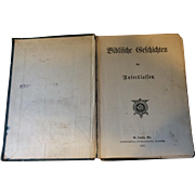 1905 German Bible Stories for Students, Illustrated
