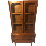 Mid Century Modern Edmond Spence-Style China Cabinet