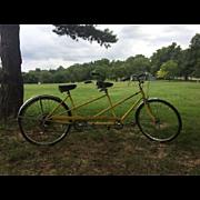 Schwinn Twinn Deluxe Tandem 5-Speed Bicycle, 1970s