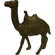 Vintage Cast Iron Camel Coin Bank, Circa 1930s