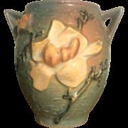 "Roseville 4"" Magnolia Vase, #86"