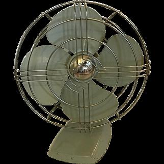 Vintage Desktop Jack Frost Oscillating Fan
