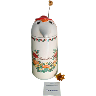 """1978 First Edition Schultz & Dooley """"The Countess"""" Beer Stein"""