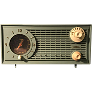 "1959 Admiral ""Ranger"" Tube Radio with Telethon Clock"