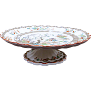19th Century Spode COPELAND Footed Cake Plate Cheese Stand