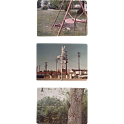 William Eggleston, Untitled: three small photographs