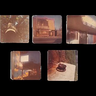 William Eggleston, Untitled: five small photographs