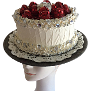 Strawberry Birthday Cake Hat