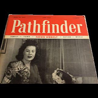 Pathfinder Magazine 4/24/1946 Ads: Ford, PA RR, Champion Spark Plug