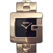 Gucci Commemorative Watch Image Pin Tietac