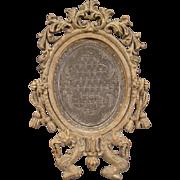 19c Miniature Union Ambrotype Gutta Percha Picture Daguerreotype Portrait Frame~