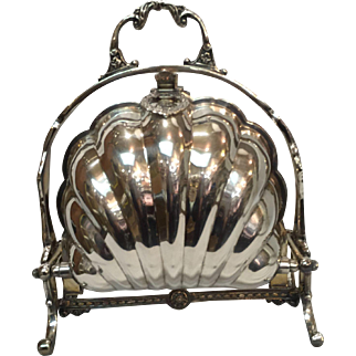 F. B. Rogers Co. Silver-Plated Biscuit Warmer