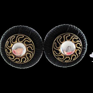 French Orb Earrings