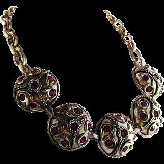Claire Deve Paris Silver-tone Necklace