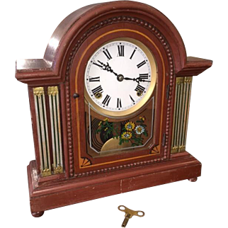 Antique Mantle Clock c 1900