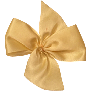 Vintage Vogue Ginny Yellow Bow