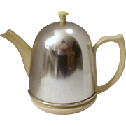 Hall Yellow Teapot with Chrome Tea Cosy