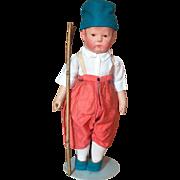 "17"" Early Kathe Kruse Doll"